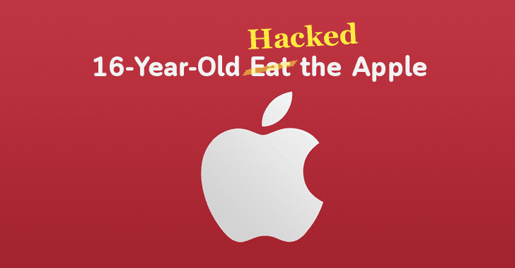 16-Year-Old Teen Hacked Apple Servers, Stole 90GB of Secure Files