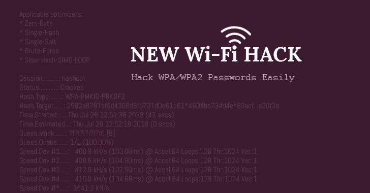 How to Hack WiFi Password Easily Using New Attack On WPA