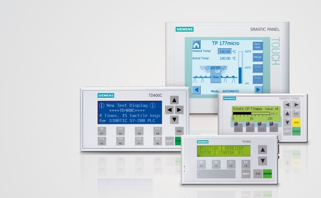 Siemens SIMATIC Panels
