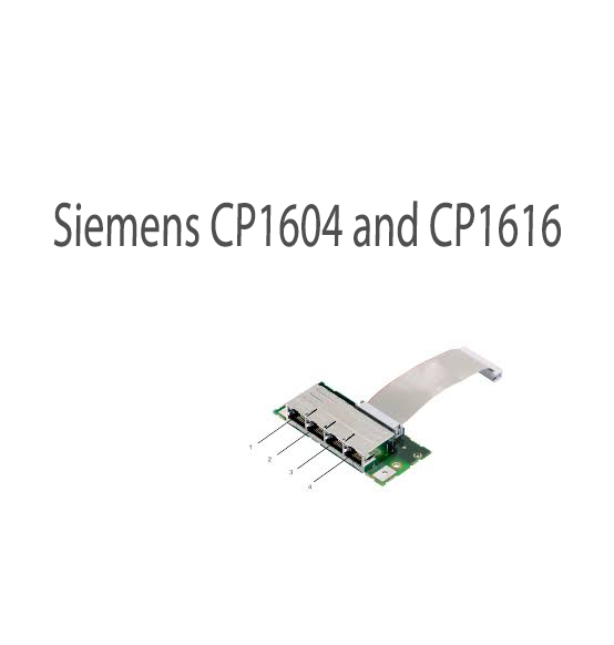 Siemens CP1604 and CP1616 (Update A)