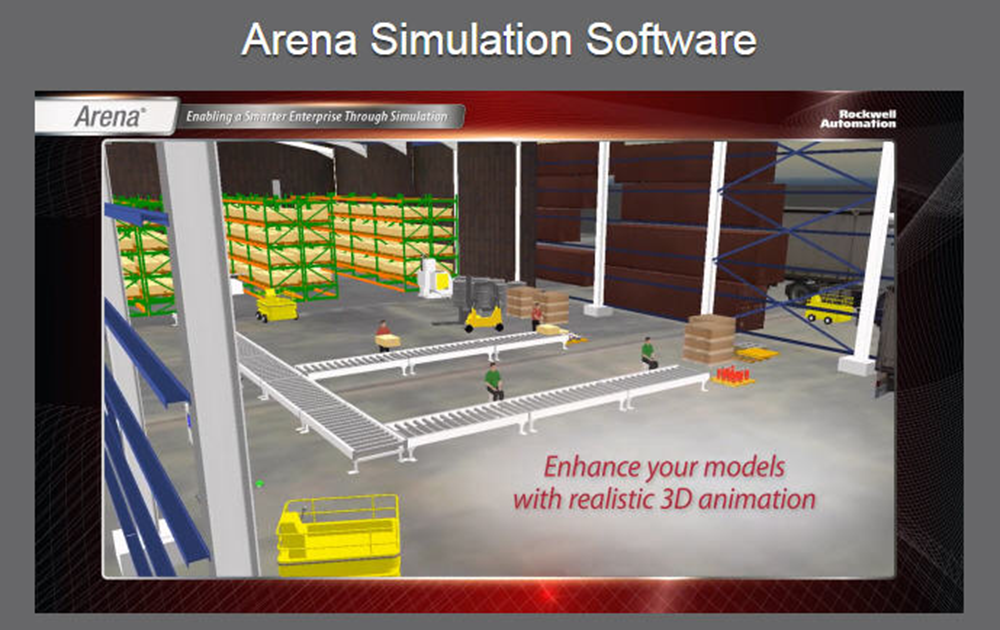 Rockwell Automation Arena Simulation Software