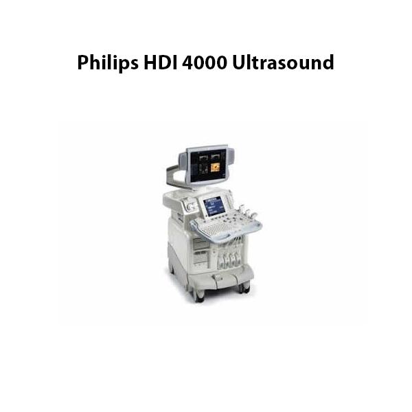Philips HDI 4000 Ultrasound