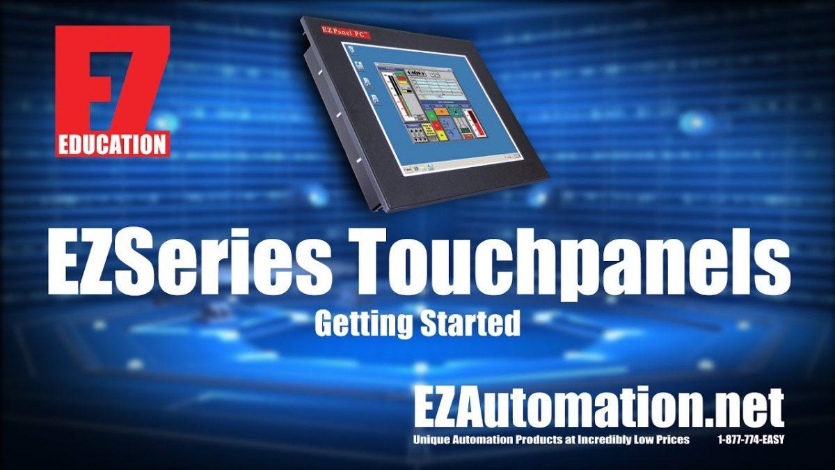 EZAutomation EZ Touch Editor