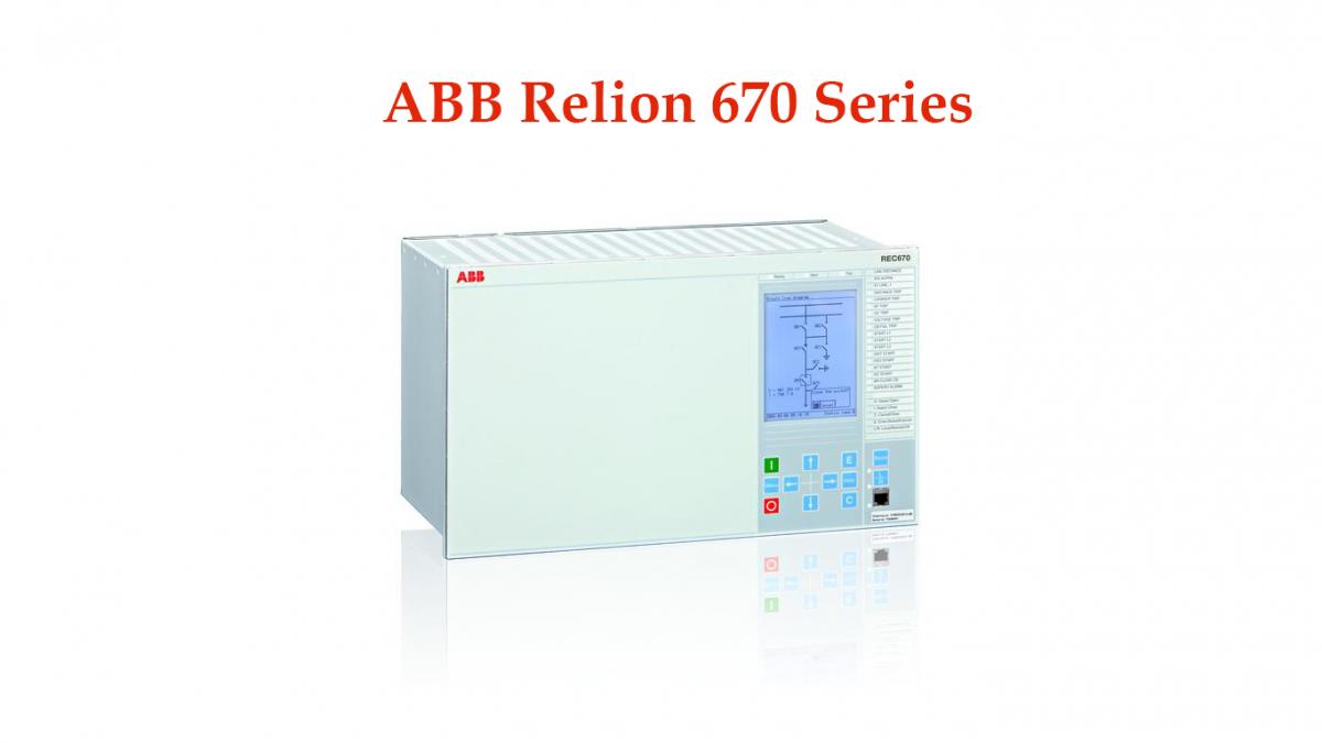 ABB Relion 670 Series