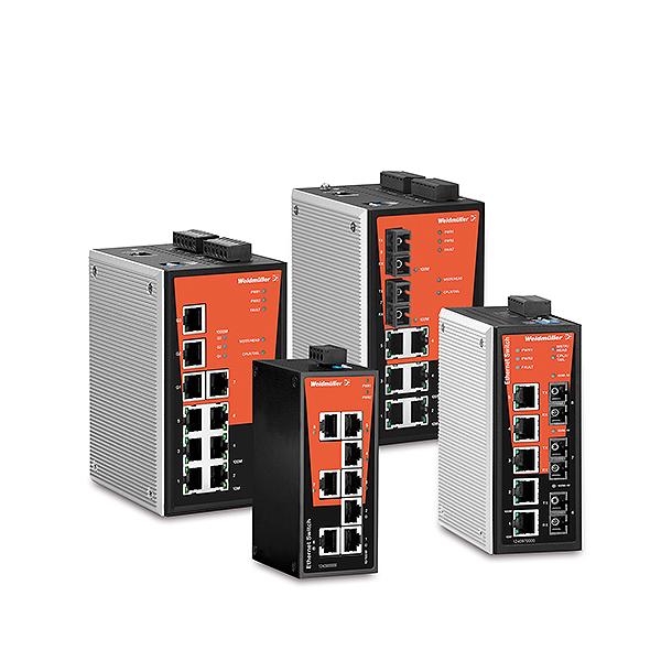 Weidmueller Industrial Ethernet Switches