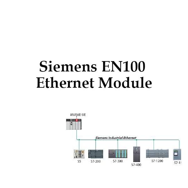 Siemens EN100 Ethernet Module