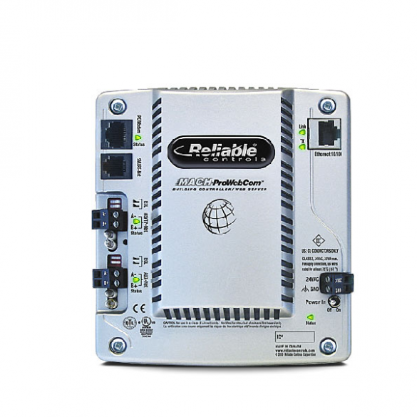 Reliable Controls MACH-ProWebCom/Sys