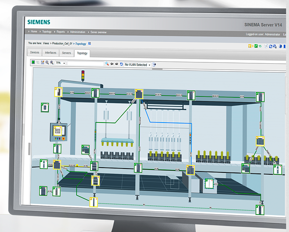 Siemens SINEMA Server
