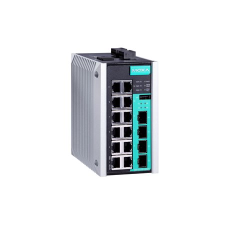 Moxa EDS-G516E and EDS-510E Series Ethernet Switches