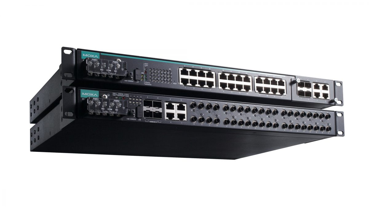 Moxa PT-7528 and PT-7828 Series Ethernet Switches