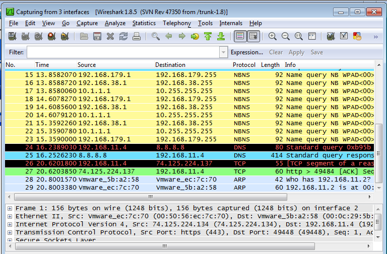 Packet Sniffer to Sniff Sensitive Credentials Only