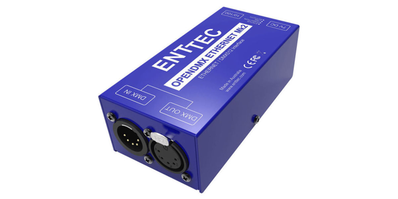 ENTTEC Lighting Controllers (Update A)