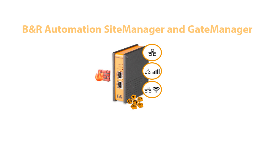 B&R Automation SiteManager and GateManager