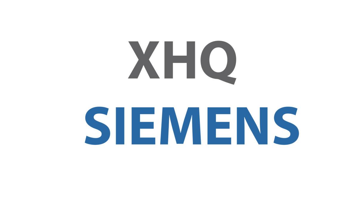 Siemens XHQ Operations Intelligence