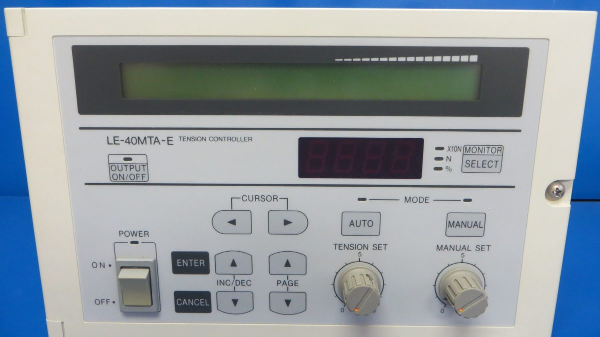 Mitsubishi Electric GOT and Tension Controller (Update A)