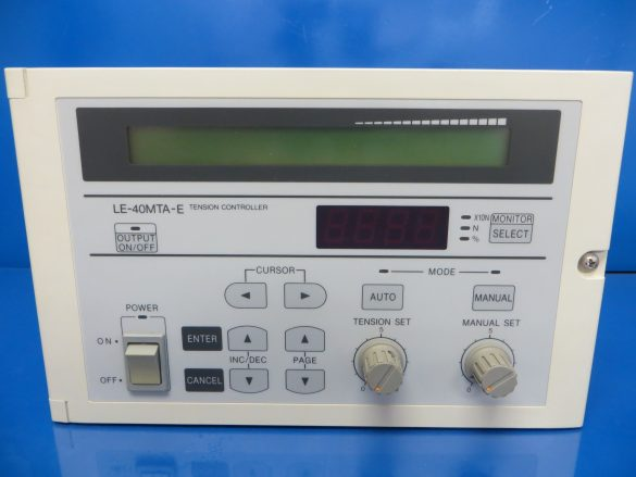 Mitsubishi Electric GOT and Tension Controller