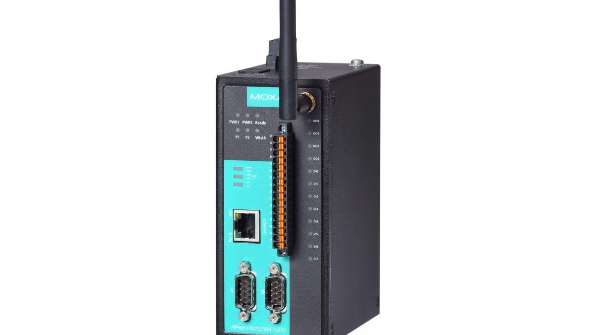 Moxa NPort IAW5000A-I/O Series Serial Device Server